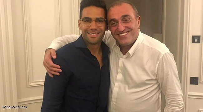 Abdurrahim Albayrak ve Falcao'nun fotoğrafı Galatasaraylıları heyecanlandırdı