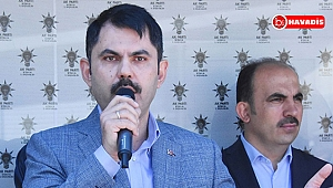 Bakan Kurum'dan 'Davutoğlu' göndermesi