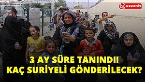 Bakan Soylu 3 ay daha uzattı! İstanbul'dan kaç Suriyeli gönderilecek?