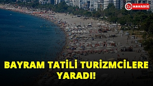 Bayramda turist trafiği! 10 milyon turist, 35 milyar lira gelir!..
