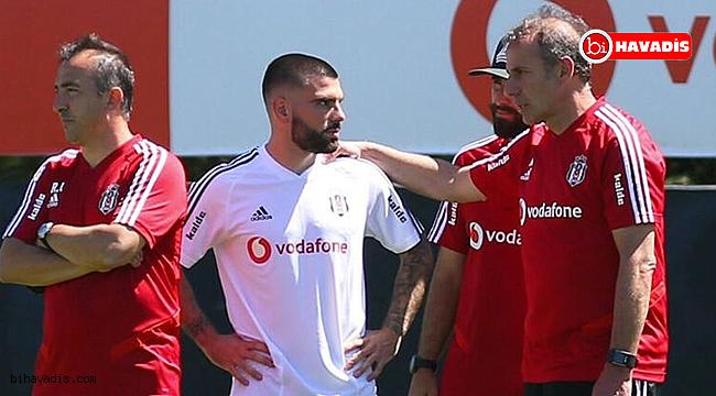 Beşiktaş'ta Pedro Rebocho, ilk idmanına çıktı