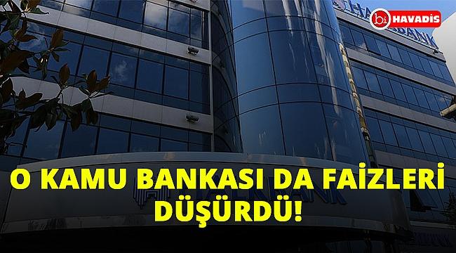 Bir müjdeli haber de Halkbank'tan. Konut kredisi faizlerini düşürdüler!..