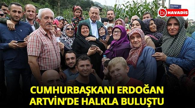 Cumhurbaşkanı Erdoğan Artvin'de halkla buluştu