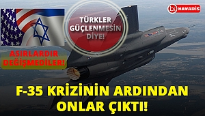 F-35 Krizinin Ardından Onlar Çıktı! Türkiye'nin Bölgede Güçleniyor Olması Onları Endişelendirdi!