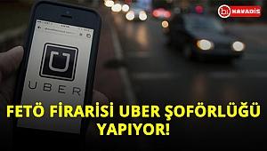 Firari genel yayın yönetmeni UBER şoförlüğü yapıyor!..