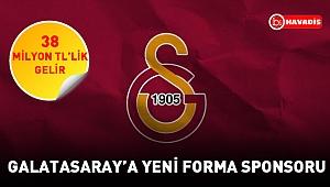 Galatasaray'a 38 milyon TL'lik gelir