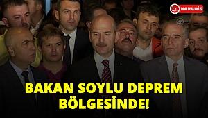 İçişleri Bakanı Süleyman Soylu, depremin yaşandığı Denizli'de incelemelerde bulundu!..
