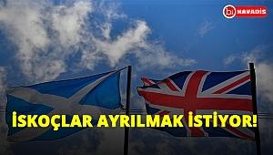 İskoçlar, İngiltere'den ayrılmak istiyor!..