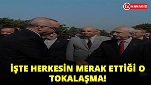 İşte 30 Ağustos Töreninde Erdoğan-Kılıçdaroğlu tokalaşması!..