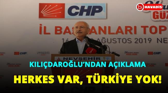 Kılıçdaroğlu'ndan Doğu Akdeniz açıklaması: Herkes var, Türkiye yok!..