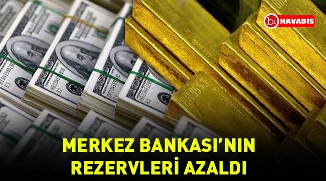 Merkez Bankası'nın rezervleri 1.5 milyar dolar azaldı
