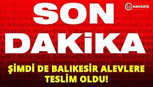 Son Dakika! Şimdi de Balıkesir alev alev!..