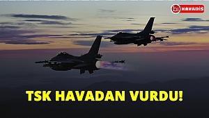 TSK havadan vurdu! 2 terörist öldürüldü!..