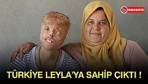 Türkiye Leyla'ya sahip çıktı !