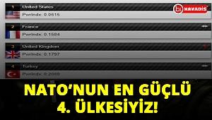 Türkiye NATO'nun en güçlü dördüncü ülkesi!..