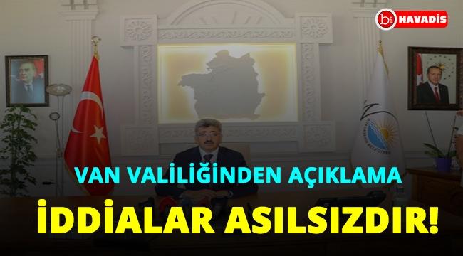 Van Valiliği: 'Atatürk portresi indirildi' iddiaları asılsızdır