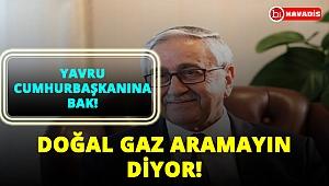 Yavru cumhurbaşkanı Türkiye'yi eleştirdi! Doğal gaz aramamız doğru değilmiş!..