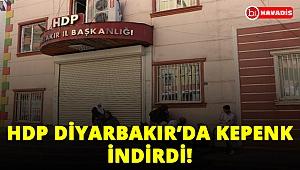 Ailelerin eylemleri üzerine HDP Diyarbakır İl Başkanlığı kepenk kapattı!..
