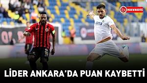 Alanyaspor, Gençlerbirliği ile 1-1 berabere kaldı!