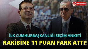 Anket sonuçları açıklandı: Cumhurbaşkanı Erdoğan'dan İmamoğlu'na büyük fark!..