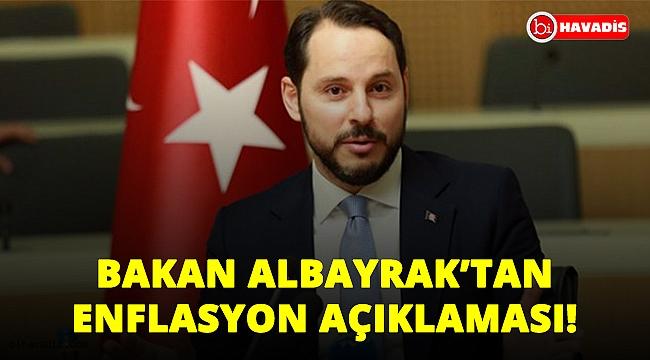 """Bakan Albayrak'tan enflasyon açıklaması: """"Yıl sonu hedeflerimizi yakalayacağız""""!.."""