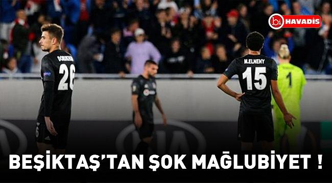 Beşiktaş, Slovan Bratislava'ya 4-2 mağlup oldu!