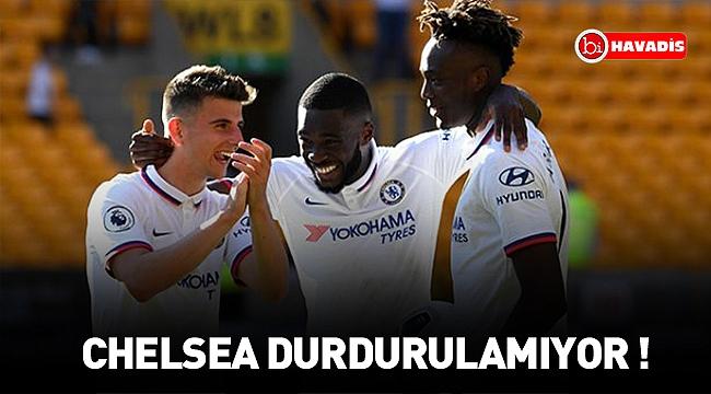 Chelsea, Beşiktaş'ın Avrupa Ligi'ndeki rakibi Wolverhampton'ı 5-2 yendi