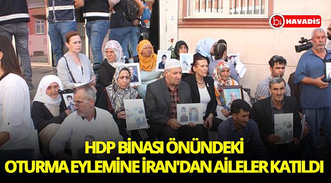Diyarbakır'da HDP binası önündeki annelerin oturma eylemine İran'dan 5 aile katıldı
