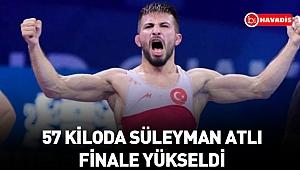 Dünya Güreş Şampiyonası'nda 57 kiloda Süleyman Atlı finale yükseldi