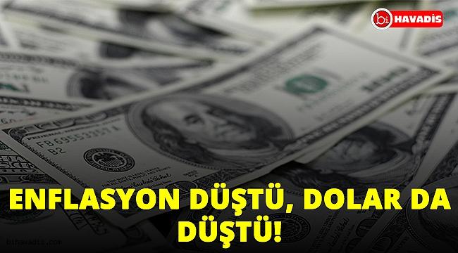 Enflasyon düştü, Dolar da düştü. İşte piyasaların enflasyona tepkisi!..