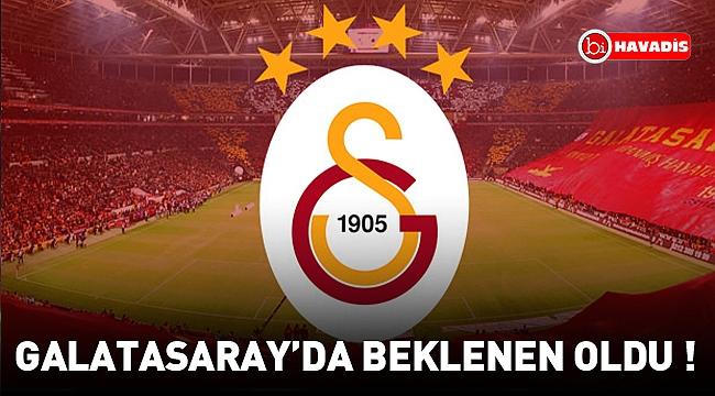 Galatasaray'da beklenen oldu ! O isim artık yok..