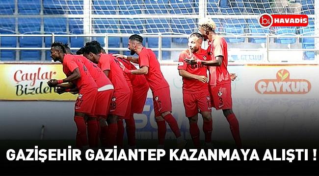 Gazişehir Gaziantep, Çaykur Rizespor'u 2-1 mağlup etti!