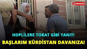 HDP'li yöneticilere tokat gibi yanıt: