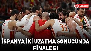 İspanya, iki uzatma sonucunda finalde!