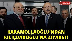 Karamollaoğlu'ndan Kılıçdaroğlu'na ziyaret!..