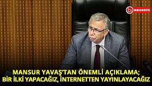Mansur Yavaş'tan makam aracı açıklaması: Plakaları internetten yayınlayacağız