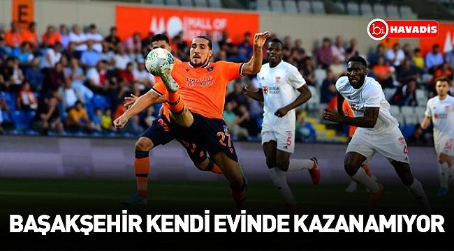 Medipol Başakşehir, Sivasspor ile 1-1 berabere kaldı!