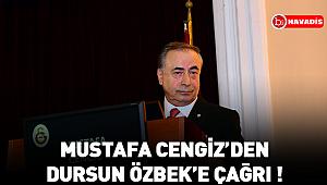 """Mustafa Cengiz: """"Otelden taahhüt ettiğin 5 milyon Dolar'ı talep ediyorum"""""""