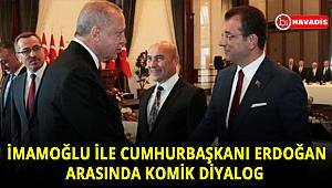 Sandalyeden düşen İmamoğlu ile Erdoğan arasında komik diyalog: Parasını ödemen lazım