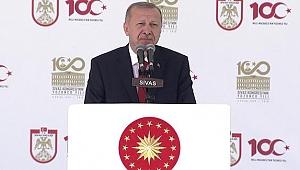 Son Dakika! Cumhurbaşkanı Erdoğan Sivas'ta önemli açıklamalar! Müjdeyi verdi!..