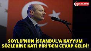 Süleyman Soylu'nun İstanbul'a kayyum sözlerine Kati Piri'den cevap geldi: İki kez düşünün!..