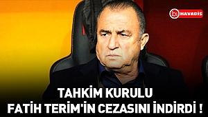 Tahkim Kurulu, Fatih Terim'in cezasını 3 maça indirdi !