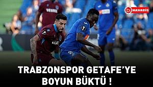 Trabzonspor, Getafe'ye 1-0 mağlup oldu