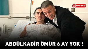 Trabzonspor resmen açıkladı: Abdülkadir Ömür 4-6 ay yok