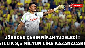Trabzonspor, Uğurcan Çakır'ın sözleşmesini uzattı!