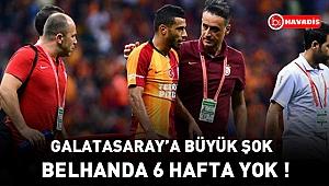Younes Belhanda, 6 hafta sahalardan uzak kalacak