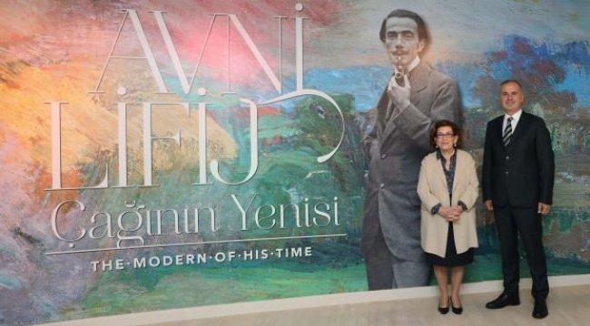 Avni Lifij Çağının Yenisi sergisi Sabancı Müzesi'nde