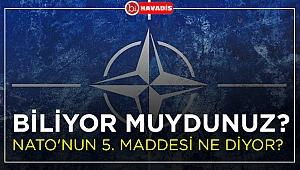 Nato'nun 5. maddesi ne diyor ?