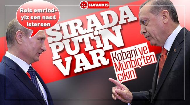 Türkiye, Kobani ve Münbiç'in boşaltılmasını isteyecek