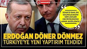 Başkan Erdoğan döner dönmez, Lindsey Graham'dan Türkiye'ye yeni tehdit.. ABD'den yaptırım